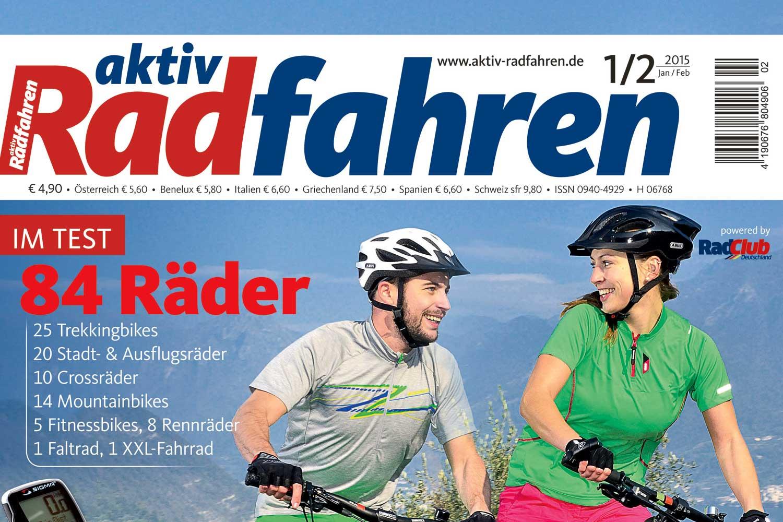 aktiv Radfahren Megatest 2015