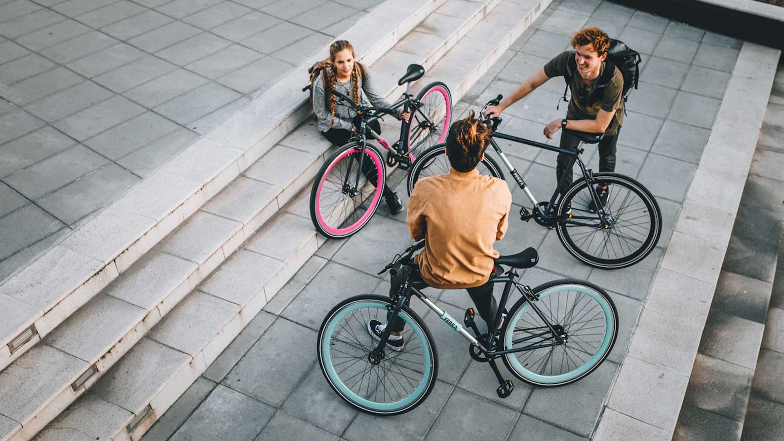 Das Yerka Bike gibts in drei Farben und mit unterschiedlichen Gangschaltungen.