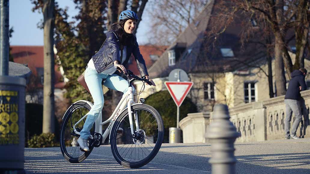 Ballonreifen sorgen für mehr Komfort auf dem Rad.