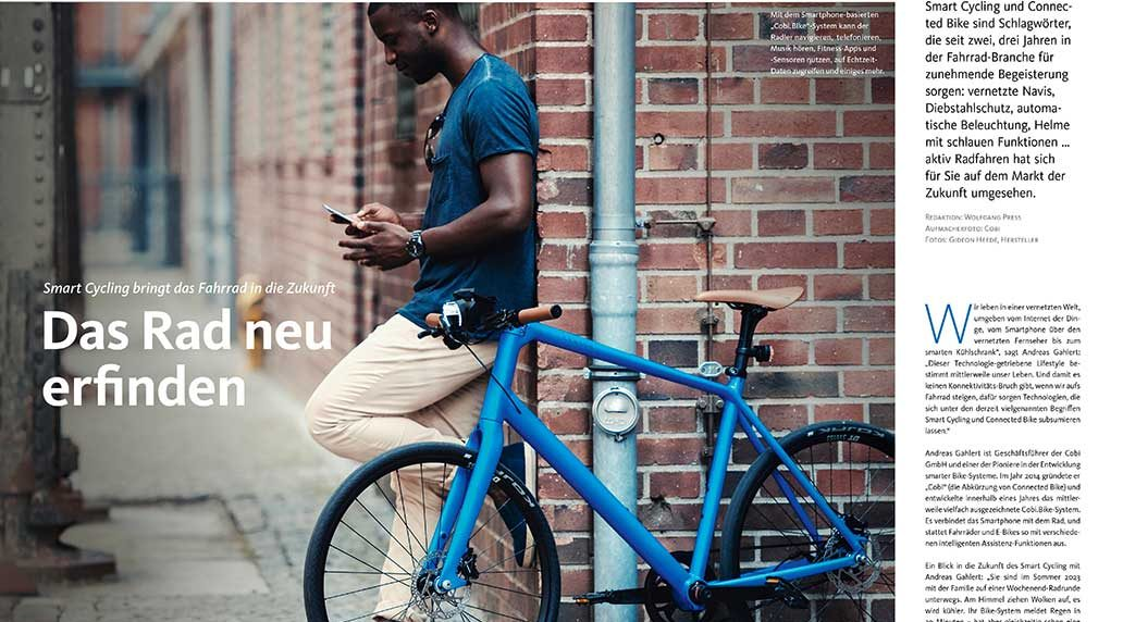 Voll im Trend: Smart Cycling
