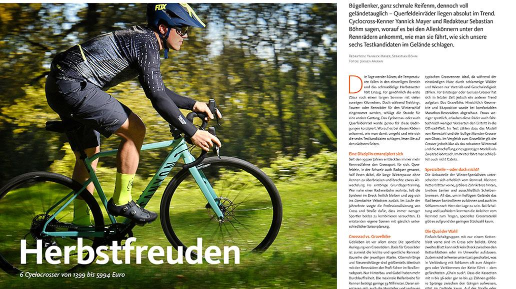 Herbstfreuden: Cyclocrosser im Test