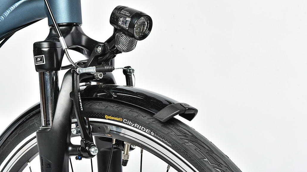 Falter C 5.0, Test, Fahrrad