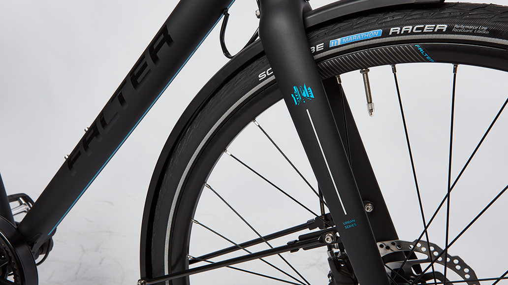 Falter U 7.0, Test, Fahrrad
