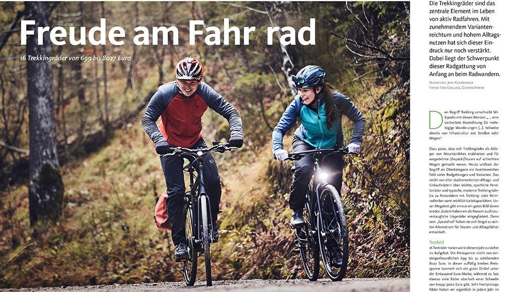 Test: 16 Trekkingräder für Alltag und Reise.