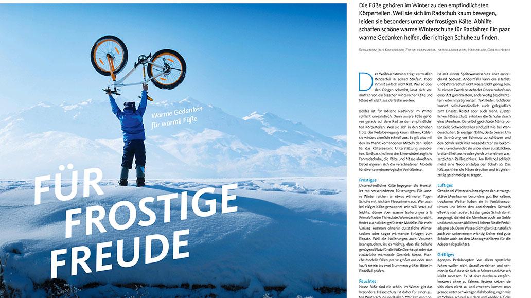 Kaufberatung: Fahrradschuhe für den Winter.