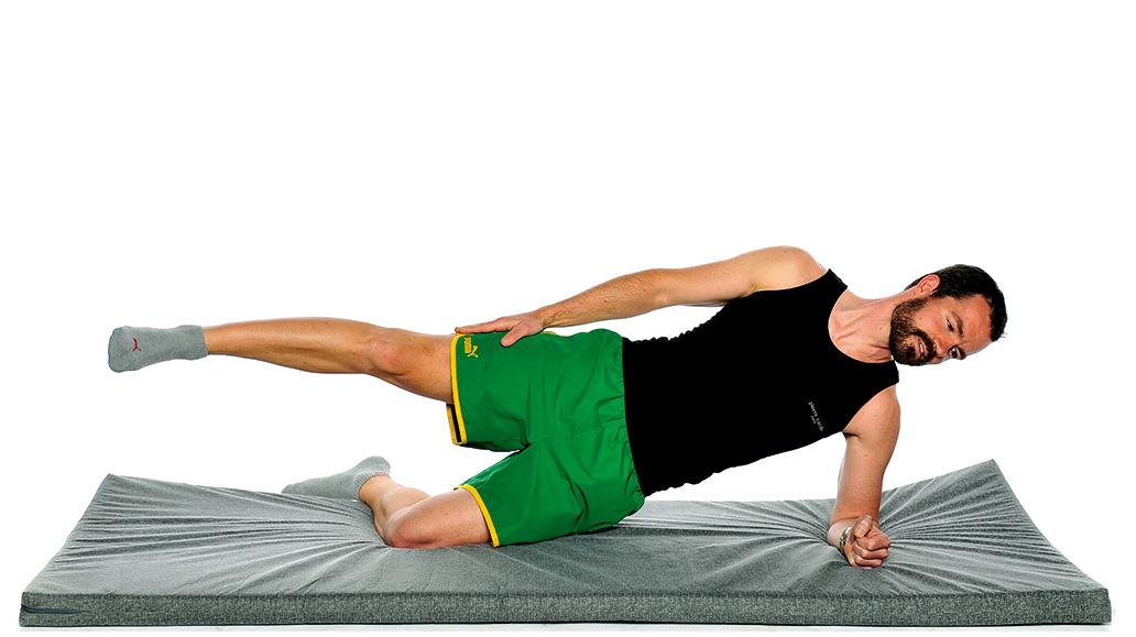 Stretching, Gymnastik, Radfahrer, Radsport, Kräftigungsübungen