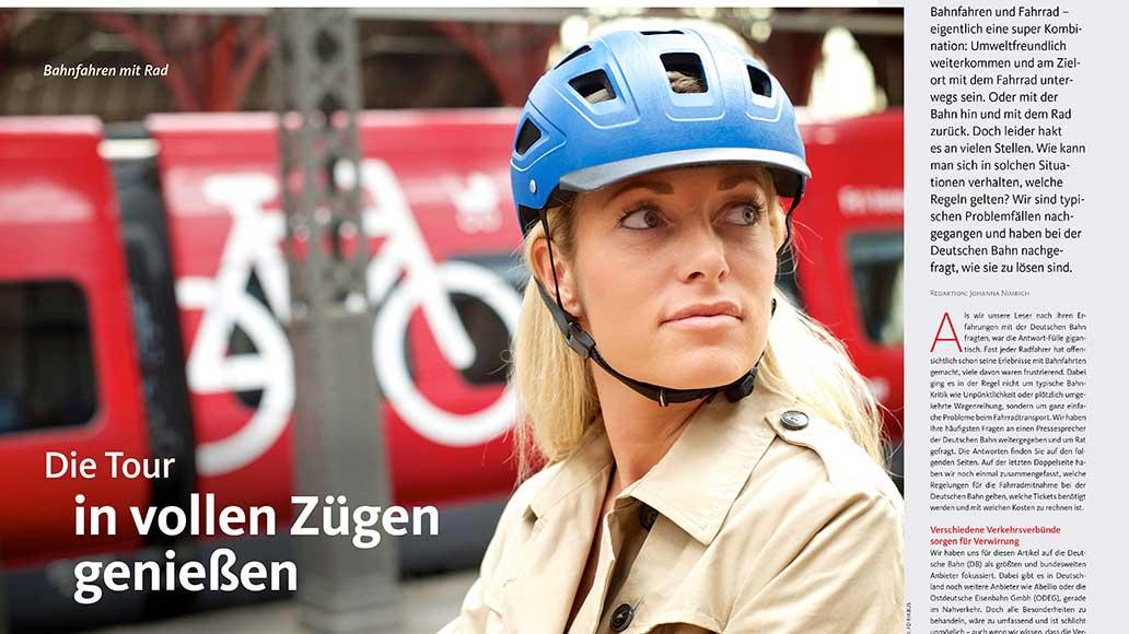 Service: Bahnfahren mit dem Rad - typische Konflikte und deren Lösungen