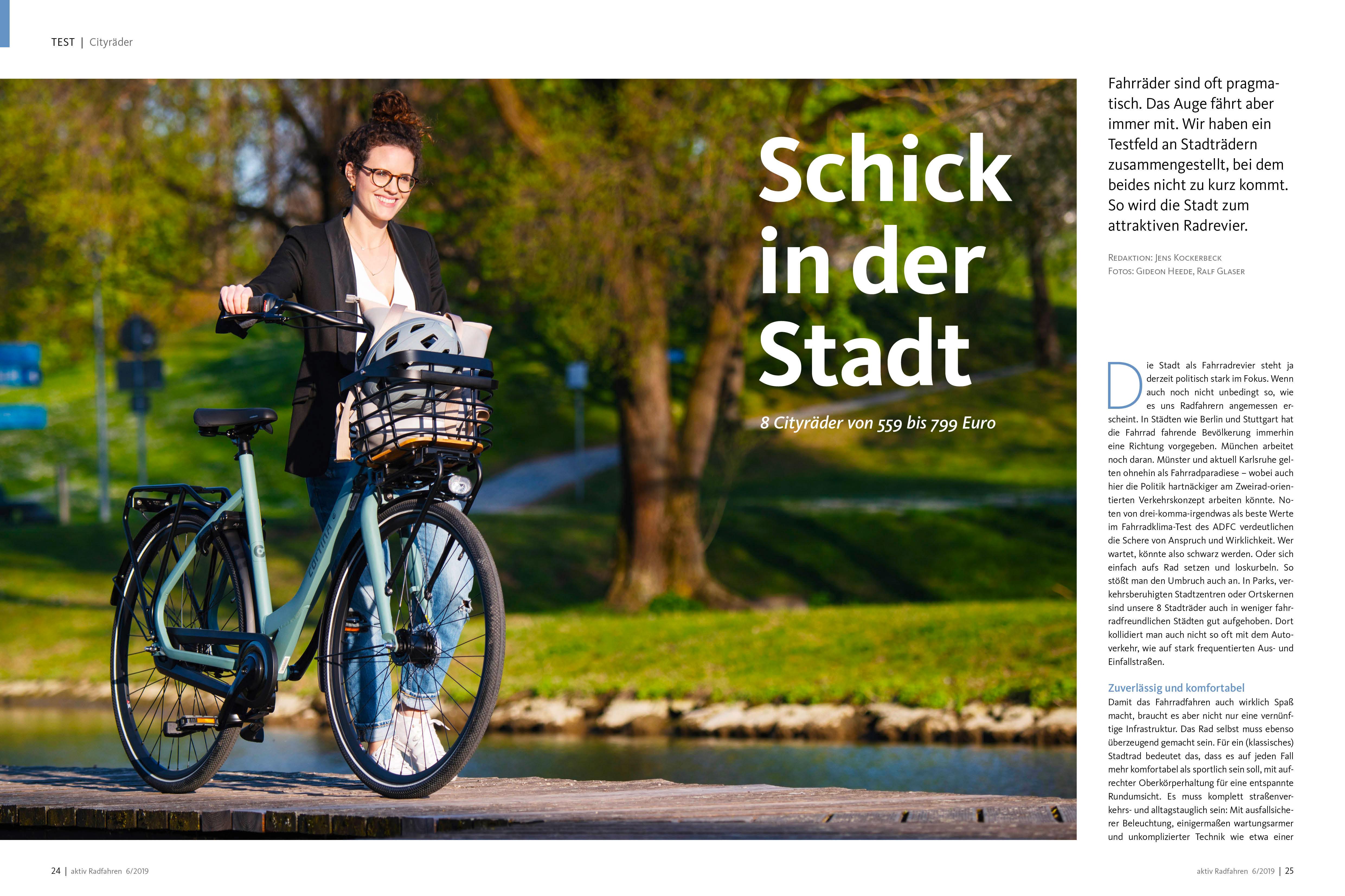 Test: Schöne und günstige Cityräder