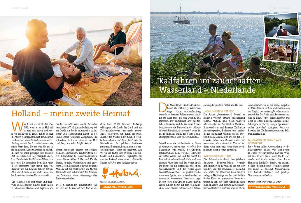 Reisetipps in der ElektroRad-Ausgabe 3/2019