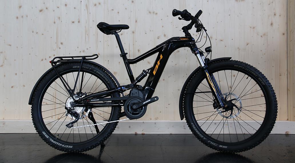 Das neue Topmodell: Atom-X Cross Pro-S mit 100mm Federweg vorn und hinten.