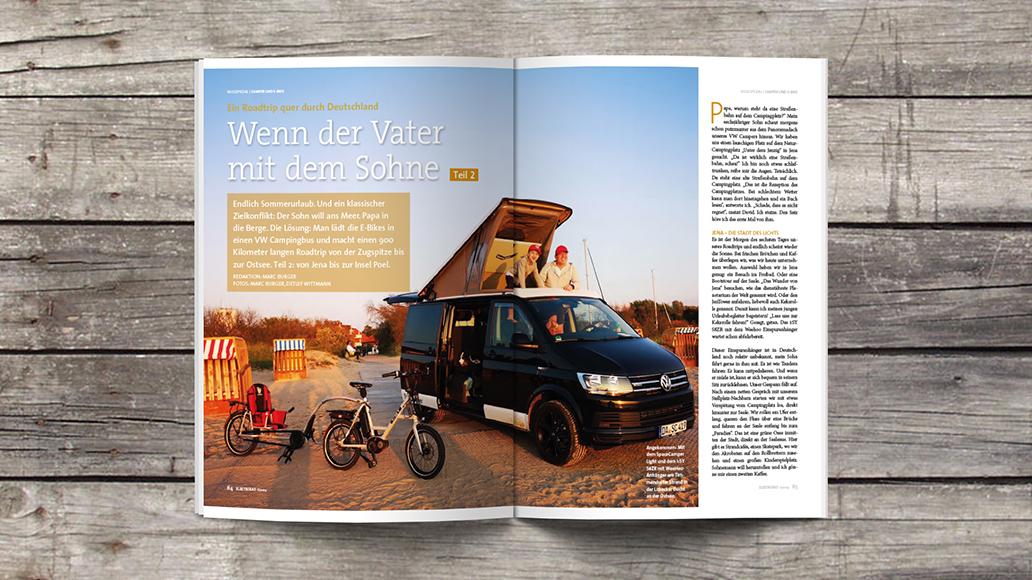 Blick ins Heft: Roadtrip Deutschland - Teil 2.