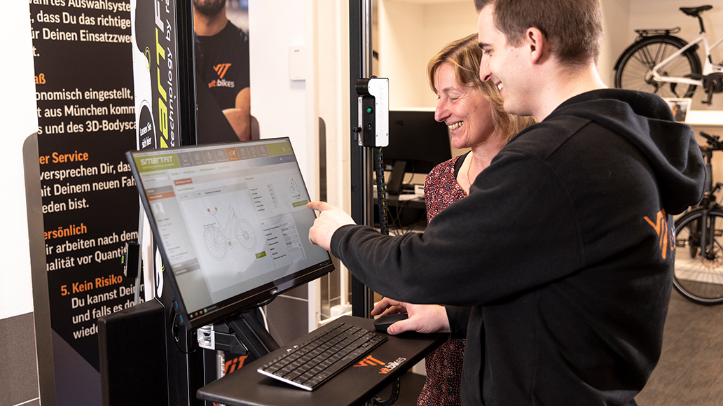 Erstkauf: Die Daten werden in den Computer übertragen
