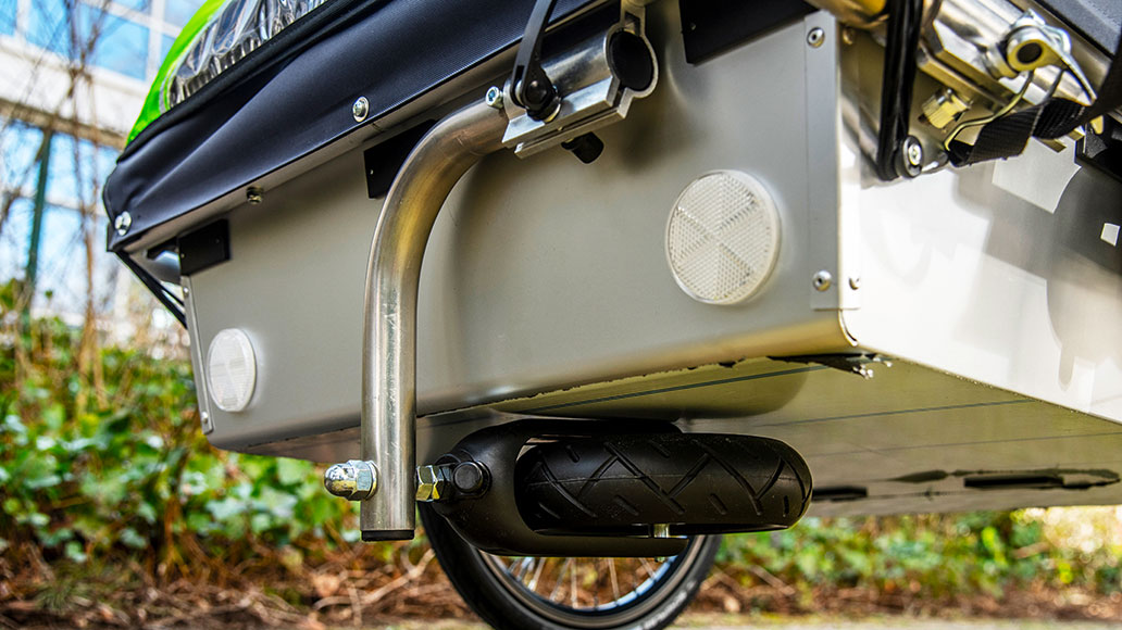 Kindercar Twin XL, Kinderanhänger, Fahrradanhänger, Test