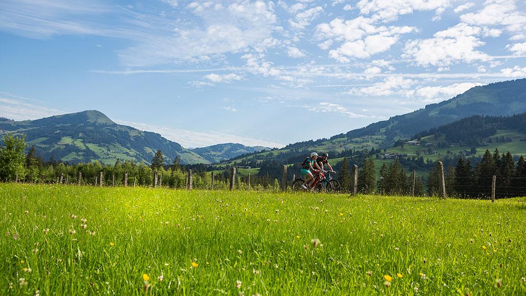 Kitzbüheler Alpen, Alpen, Radreise