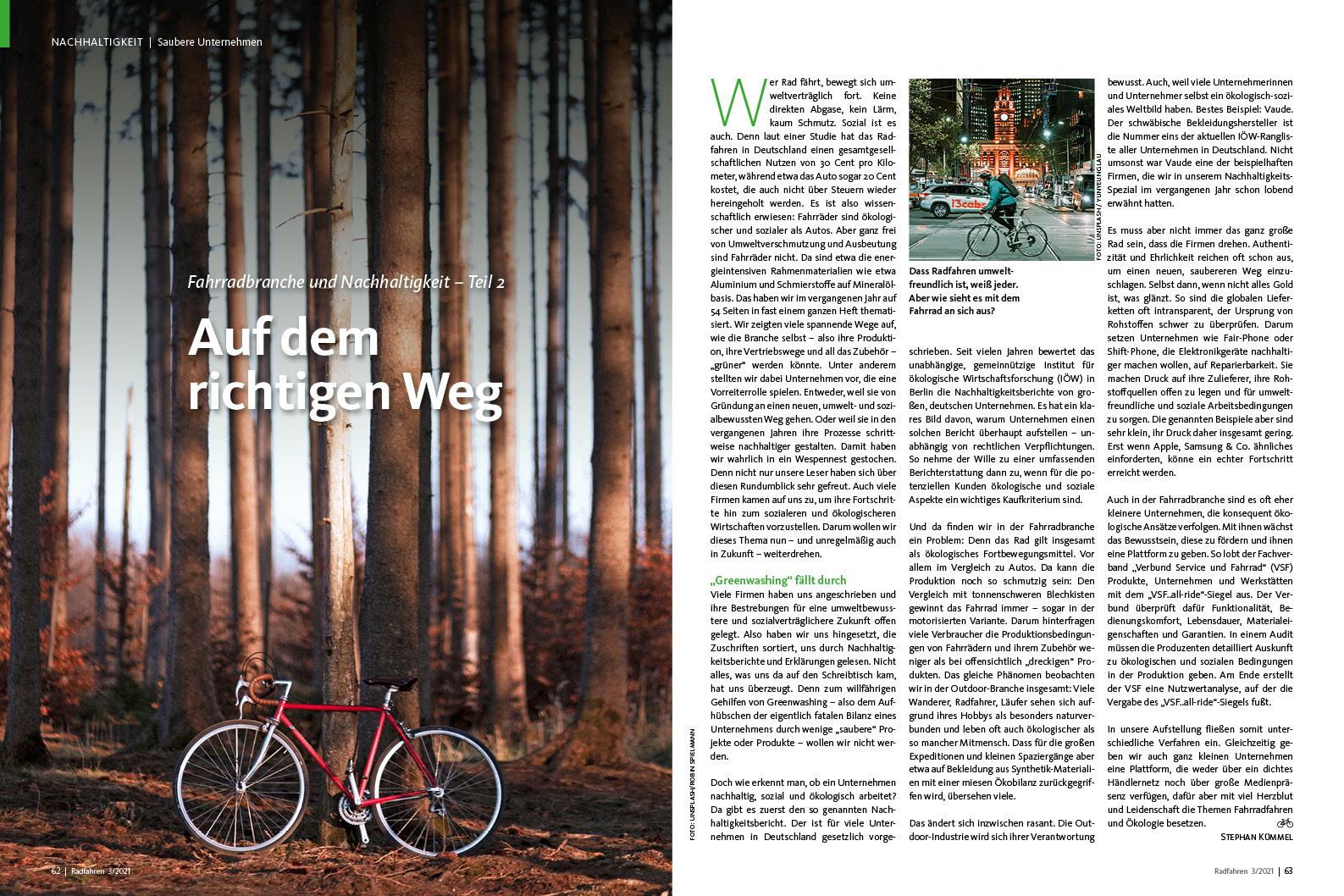 Wie nachhaltig ist die Radbranche? Teil zwei unserer Reihe.