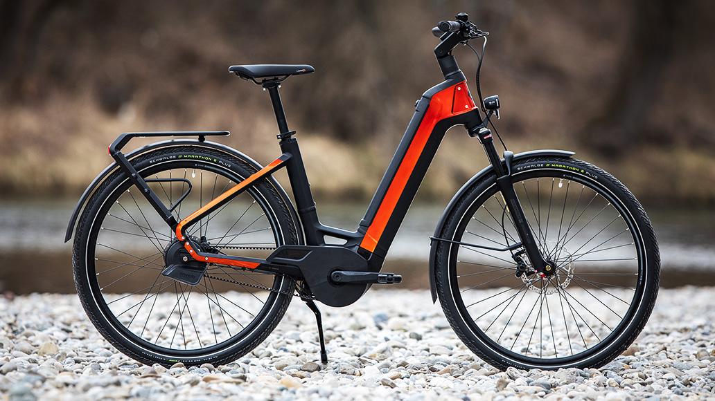 Bergamont E-Ville Pro Belt Premium, Test, E-Bike, E-Bike-Test