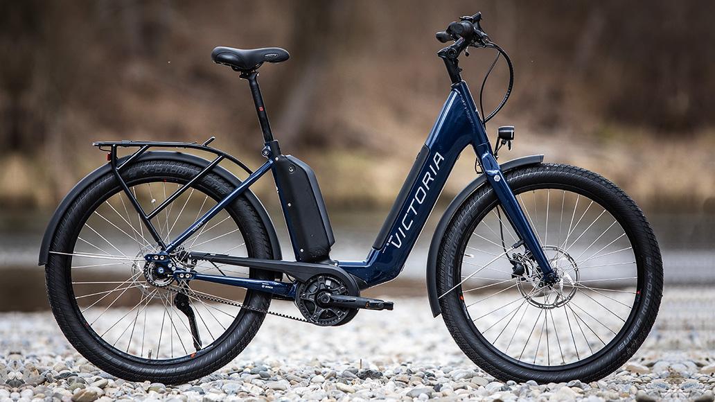 Victoria eUrban 13.8, XXL-Räder, Test, E-Bike, E-Bike-Test