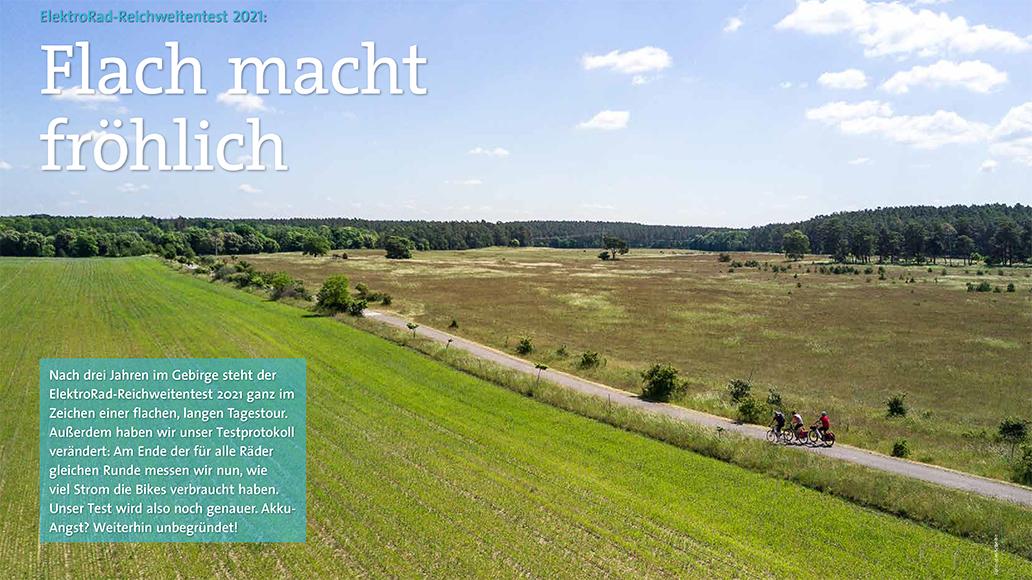 Testregion Mecklenburgische Seenplatte