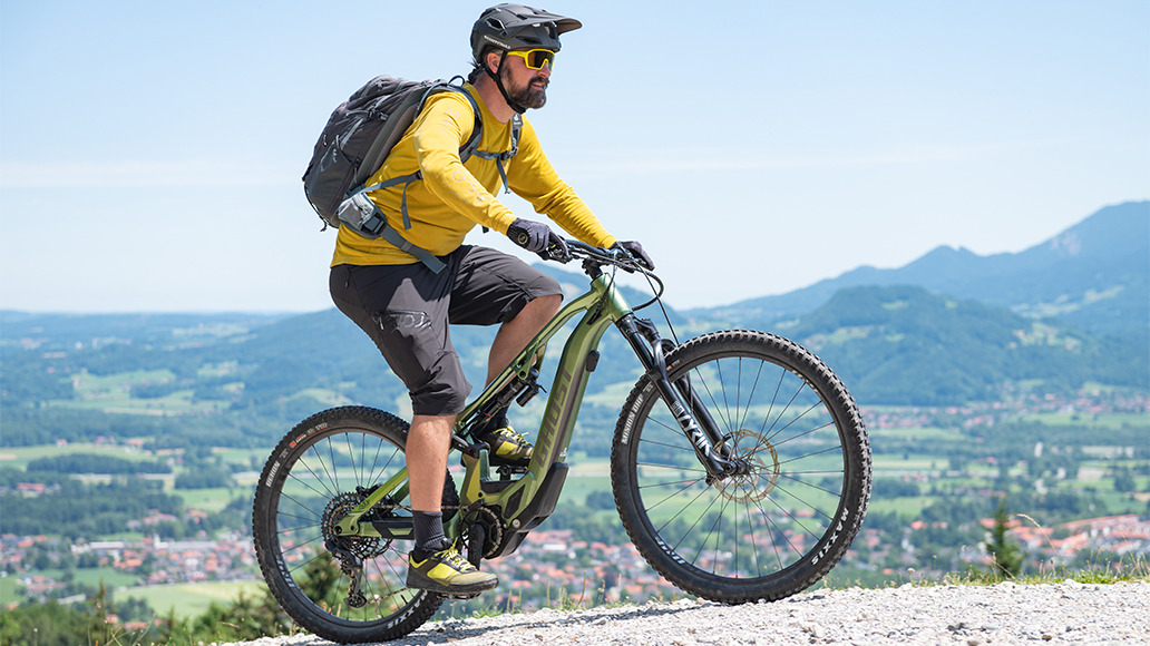 E-Bike, Fahrsicherheit, Radfahren, MTB, Andy Rieger, Berganfahren