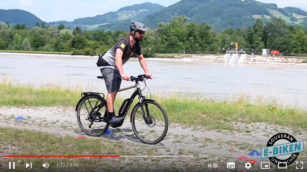 E-Bike, Fahrsicherheit, Radfahren, MTB, Andy Rieger, Balance