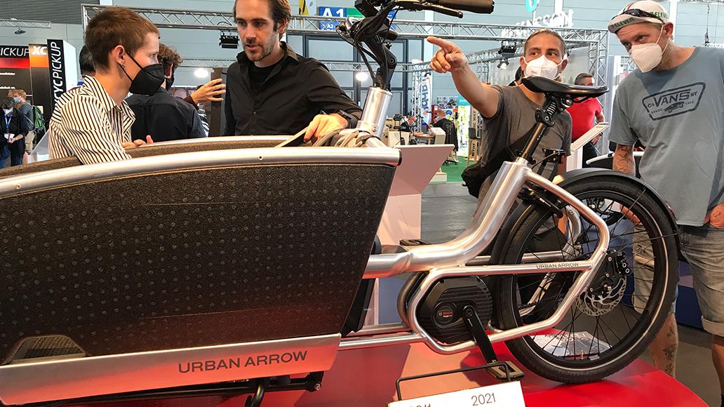 Urban Arrow, E-Cargobike, Radfahren
