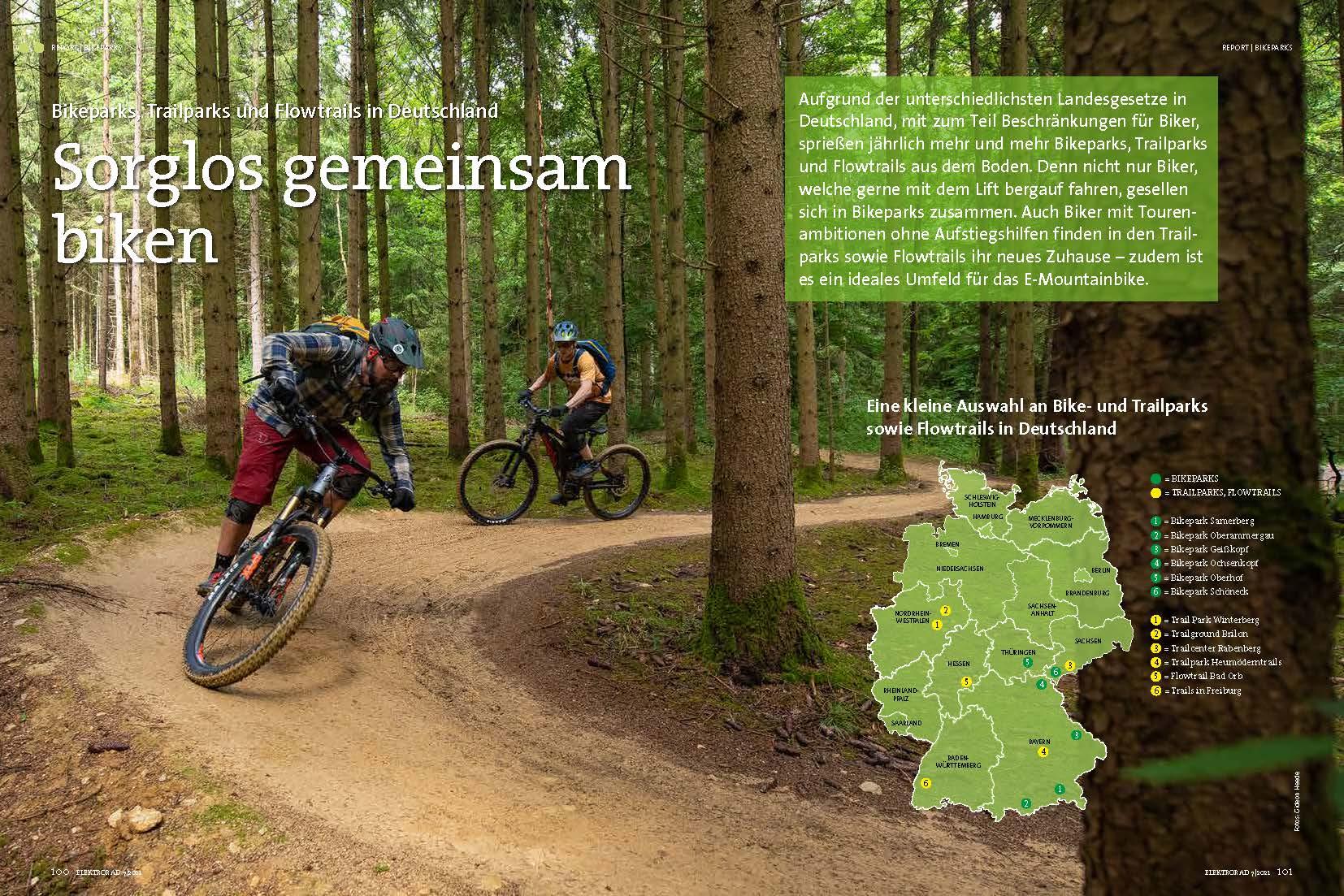 Service: Bike- und Trailparks